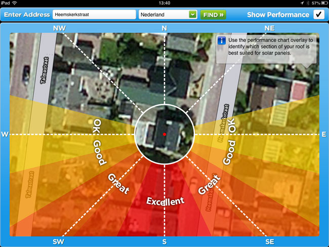 Solar Sustainability app screenshot