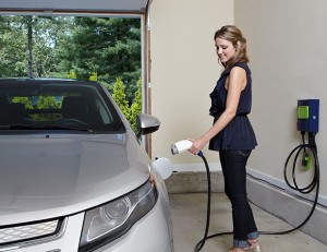 electrische auto thuis laden