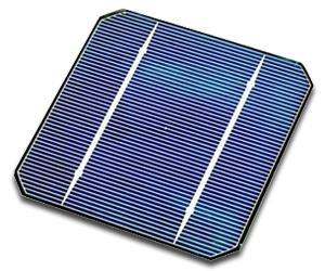 Monokristallijn-zonnepaneel