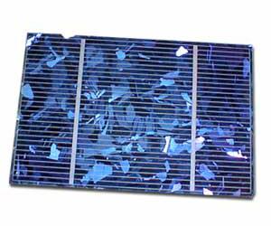 Polykristallijn-zonnepaneel